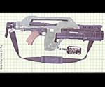 Aliens M41A Pulse Rifle