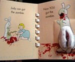 Pat the Zombie Book - Judy Can Gut the Zombie
