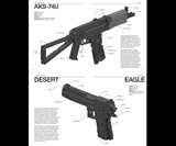 LEGO Weapons Builder's Guide Gun Models