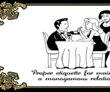 Proper Etiquette for the Modern Degenerate
