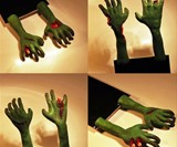 Zombie Hand Bookmark