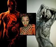 Roustan Body Paint Photo Book (NSFW)