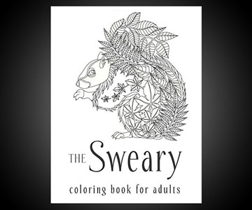 Swear Word Adult Coloring Book NSFW