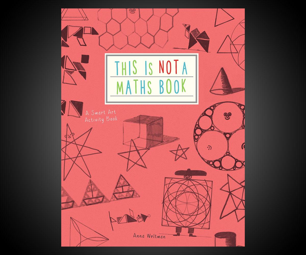 Book Cover Art Activity ~ This is not a maths book smart art activity