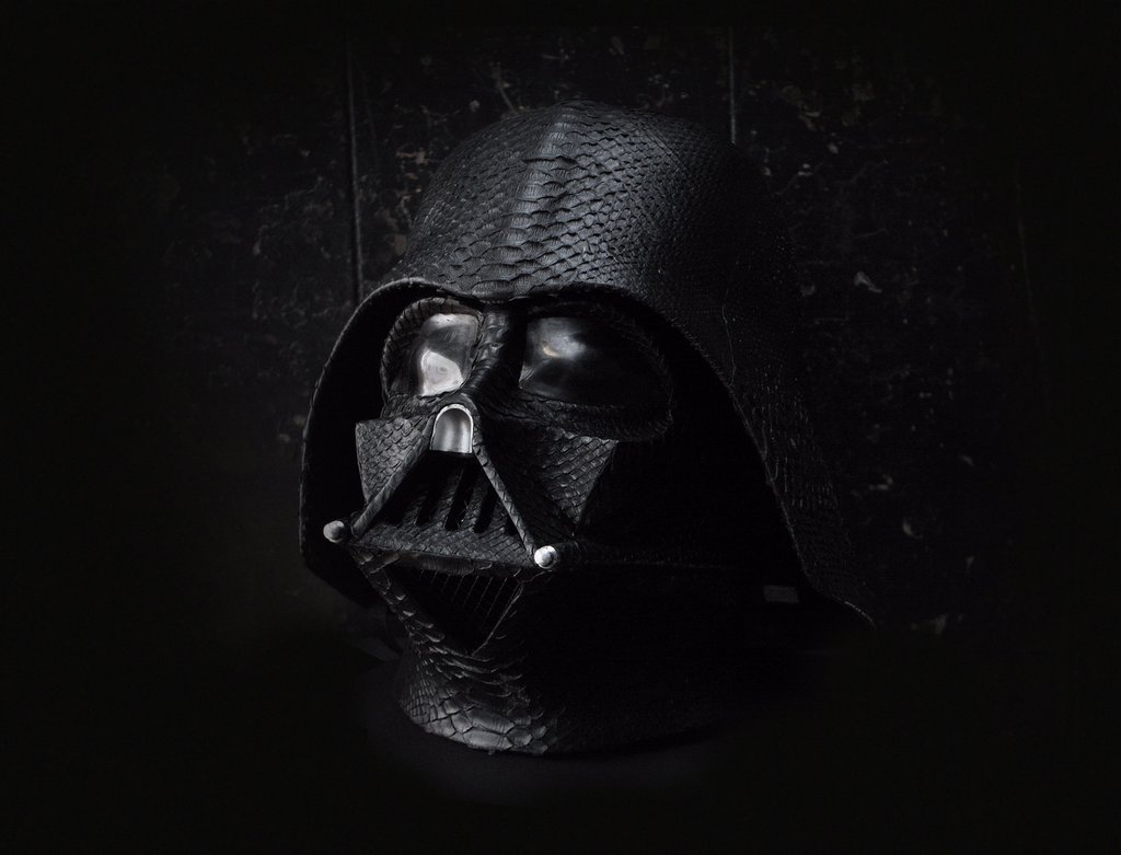 python skin darth vader helmet. Black Bedroom Furniture Sets. Home Design Ideas