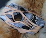 Leather Akuma Zombie Mask