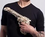 Man Holding Bone Pistol