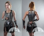 Lady Warrior Armor - Medieval Corset