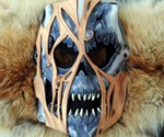Leather Akuma Zombie Mask
