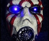 Borderlands Psycho Bandit Mask & Buzz Axe