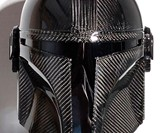 Carbon Composite Mandalorian Helmet