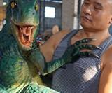 Dinosaur Arm Puppets