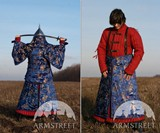 Functional Mongol Armor Suit