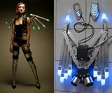 Gas-Powered LED Wings
