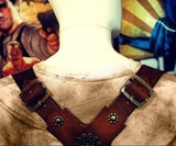 Nathan Drake Gun Holster Replica - Back Top View