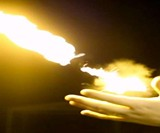 Pyro - Open Palm Fireball Shooter