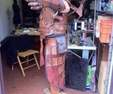 Steampunk Warrior Leather Armor