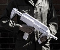 DIY Paper Submachine Gun