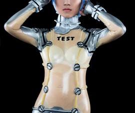 Evangelion Latex Test Plugsuit