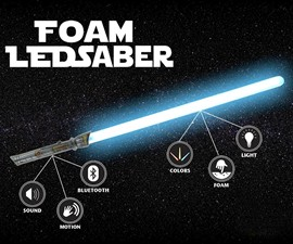 Indestructible Foam LED Lightsabers