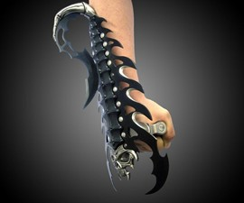 Scorpion Blade Arm Gauntlet