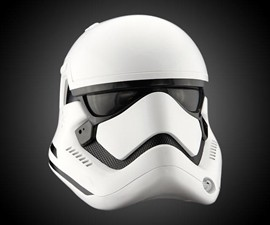 The Force Awakens First Order Stormtrooper Helmet