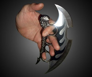 Fantasy Master Skull Knuckle Knife