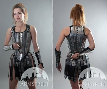 Lady Warrior Armor - Medieval Corset