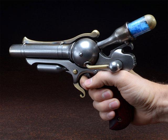 S-76 Ampratite Plasma Pistol