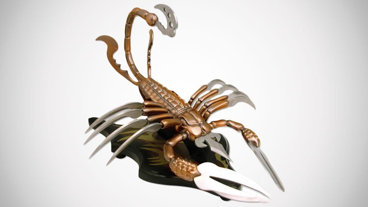 Scorpion Fantasy Knife