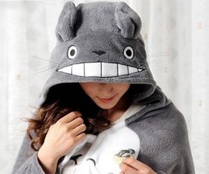 Totoro Cosplay Cloak