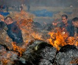 Tough Mudder Fire Obstacle