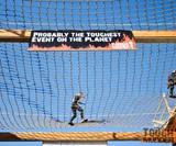 Tough Mudder Hovering Rope Net