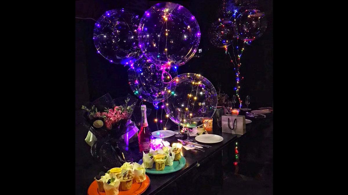 Flashing LED Bobo Balloons