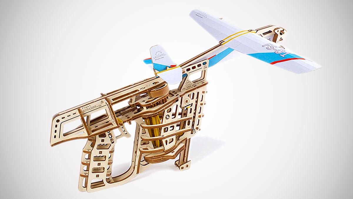 Flight Starter Mechanical Paper Airplane Launcher Kit