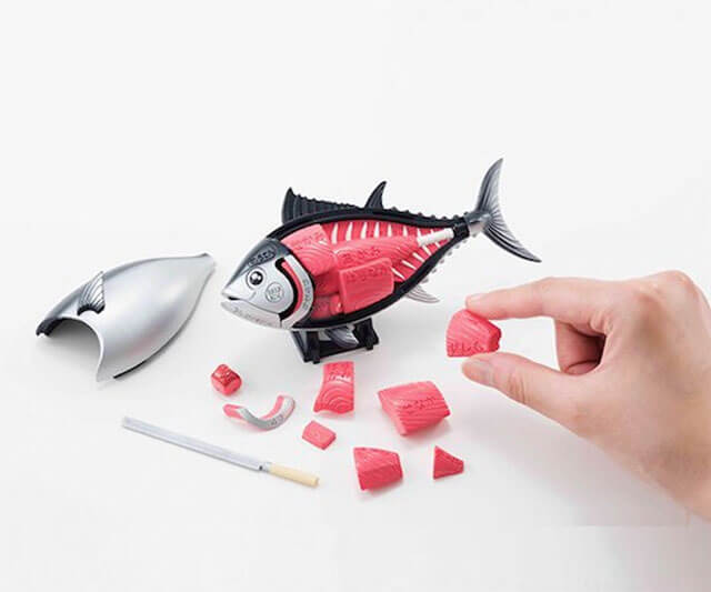 3D Tuna Dissection Puzzle