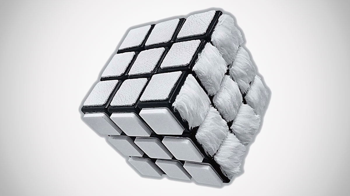 All-White Rubik's Cube