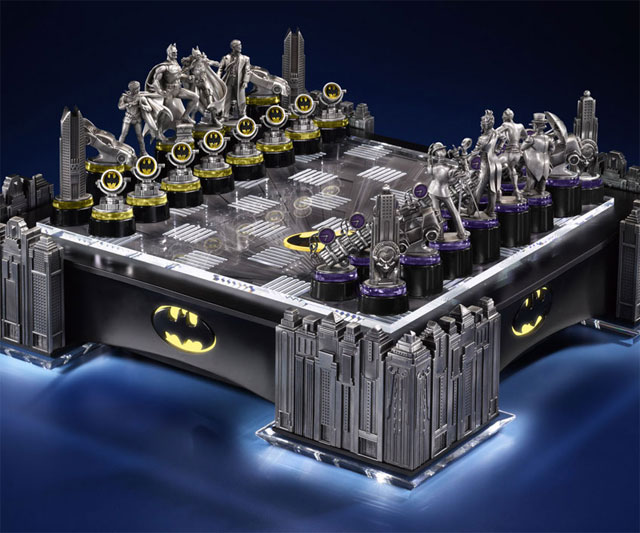 supermanand batman play chess - photo #5