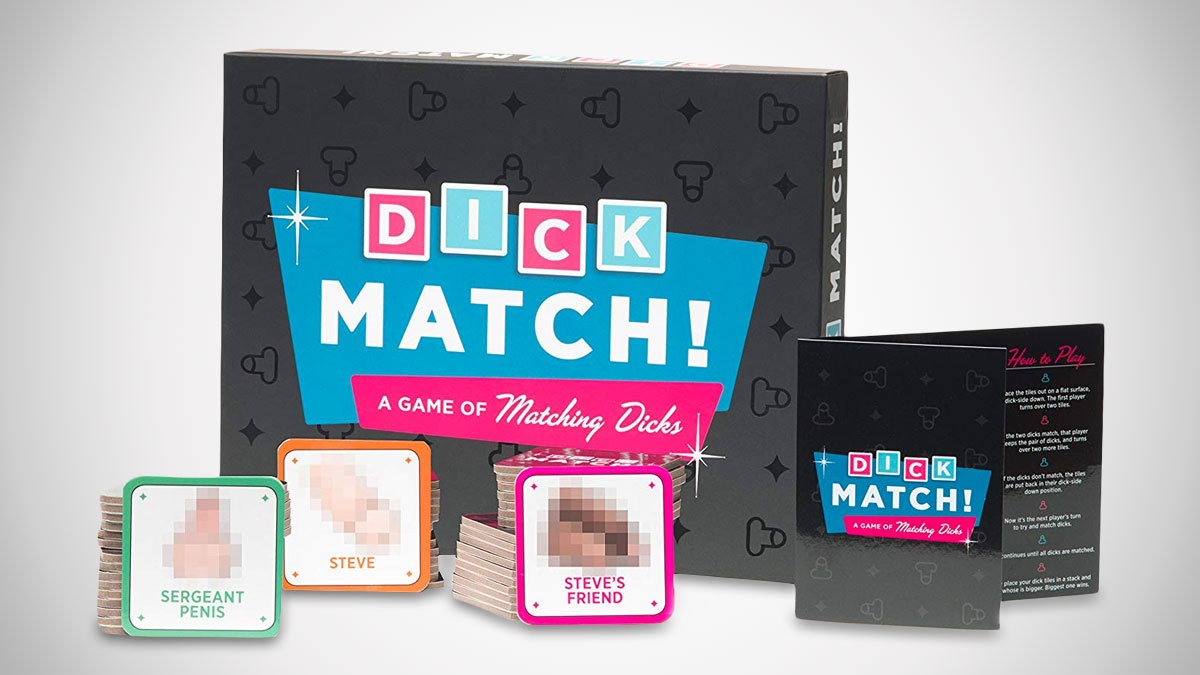 Dick Match Party Game