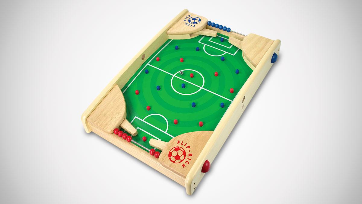 Flipkick Wooden Tabletop Soccer Dudeiwantthat Com