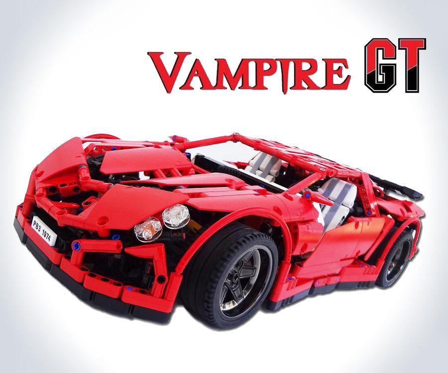 Lego Vampire Gt Supercar Dudeiwantthat Com