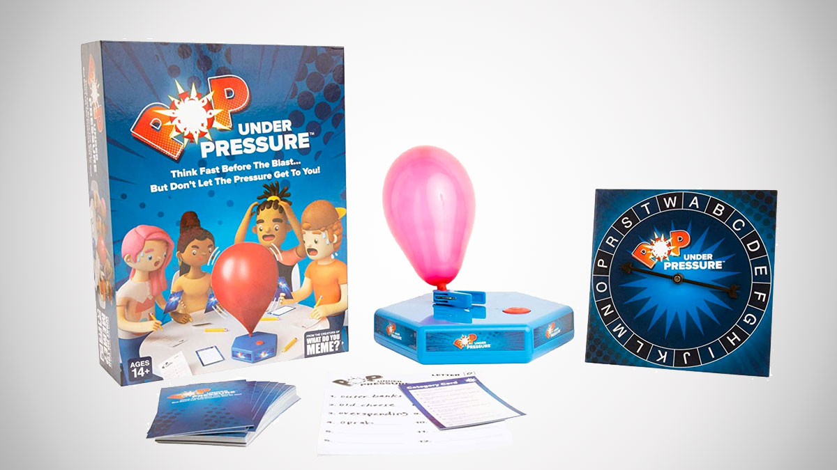 Pop Under Pressure Popping Balloon Party Game
