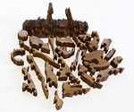 3D Zombie Puzzle Pieces