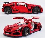 LEGO Vampire GT Supercar -  Side Views