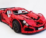 LEGO Vampire GT Supercar - 3/4 Front View