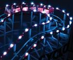 Self-Propelled Wooden Roller Coaster - LED Lights On