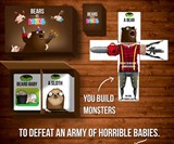 Bears vs. Babies Monster-Building Card Game