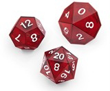 Critical Hit LED Dice Set
