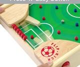 Flipkick: Wooden Tabletop Soccer