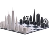 Iconic Skyline Chess Sets
